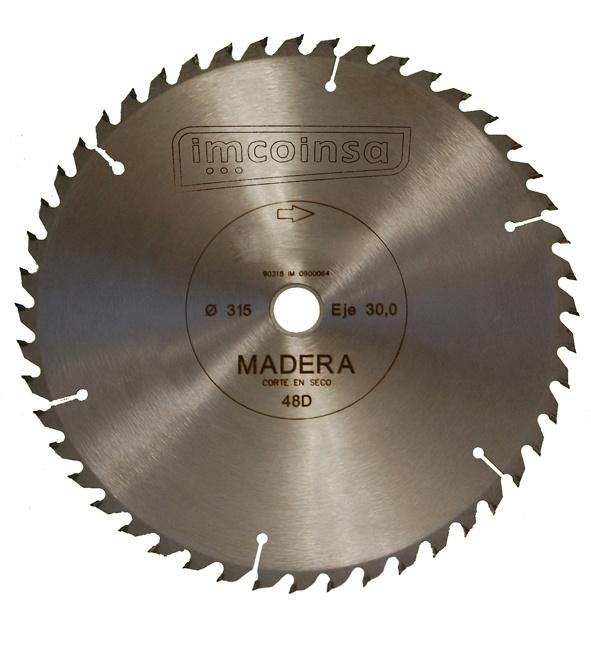 Foto de Discos para tronzadora de madera