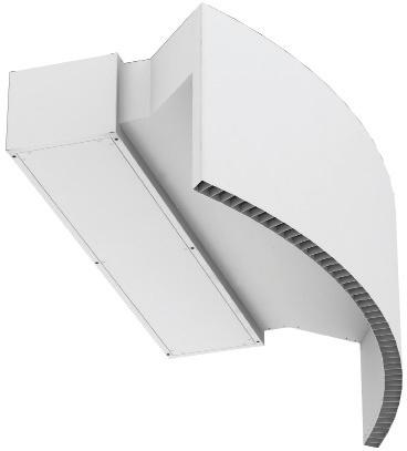 Foto de Cortinas de aire para puertas rotativas
