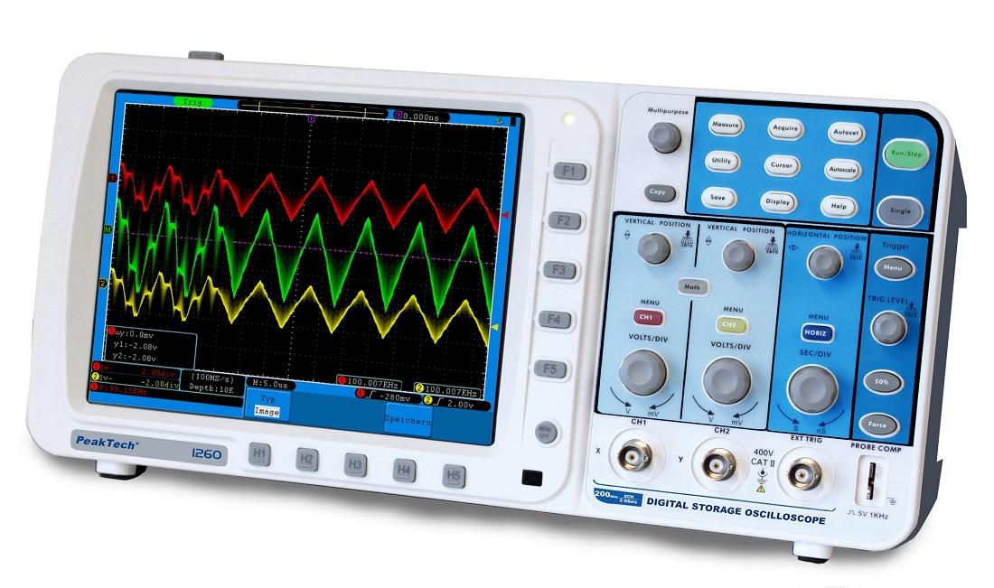 Foto de Osciloscopios digitales
