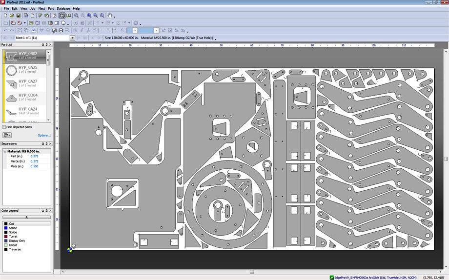 Foto de Software de anidamiento CAD/CAM