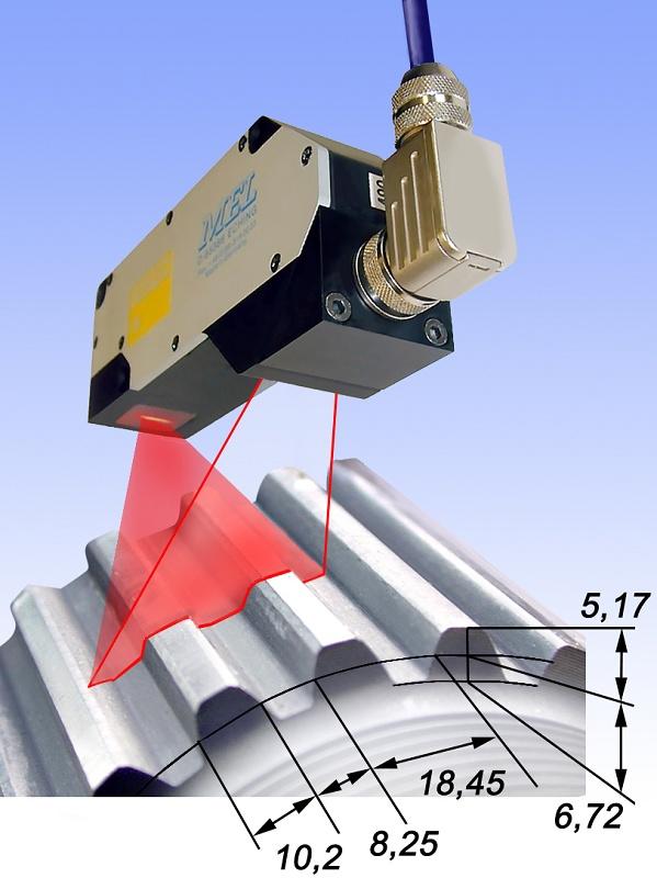 Foto de Sensores láser de 2 dimensiones