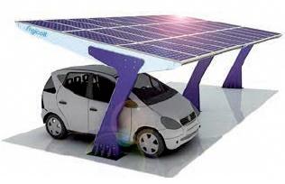 Foto de Marquesinas para paneles solares