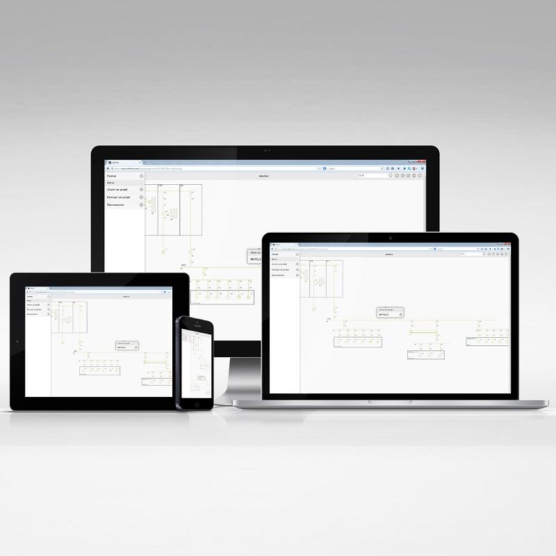 Foto de Software de cálculo eléctrico y visualización