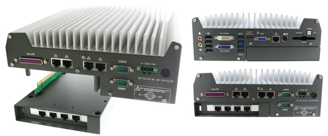 Foto de PC industrial con procesador Intel i7