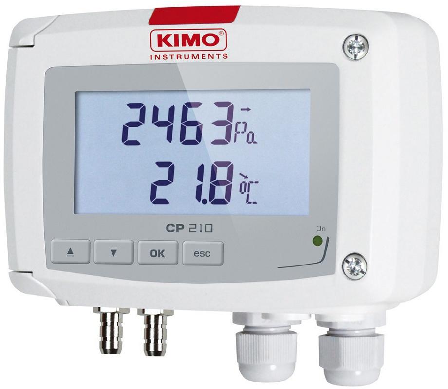 Foto de Transmisores de presión diferencial y temperatura