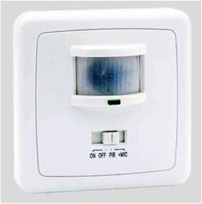Foto de Detectores de movimiento y sonido