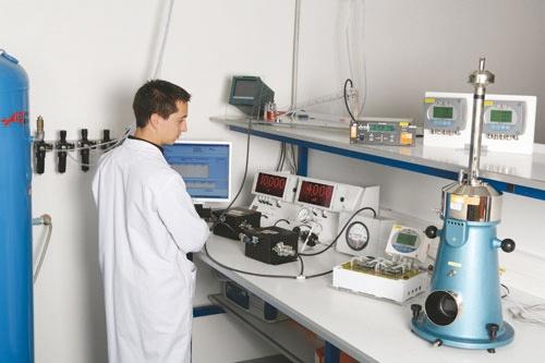 Foto de Laboratorio de presión