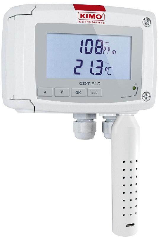 Foto de Transmisores de temperatura y de concentración de CO
