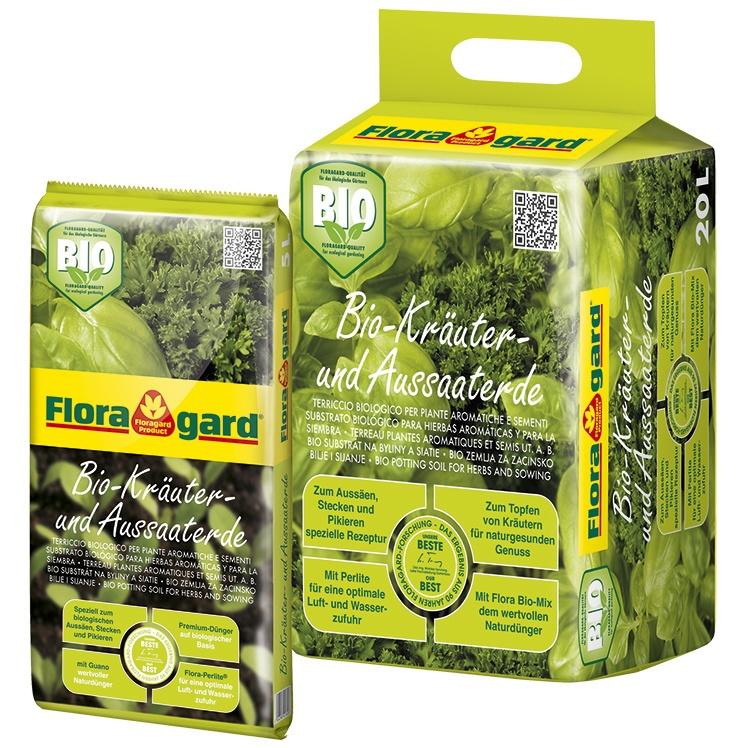 Foto de Sustratos bio para hierbas aromáticas sin turba