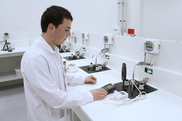 Foto de Laboratorio de higrometría