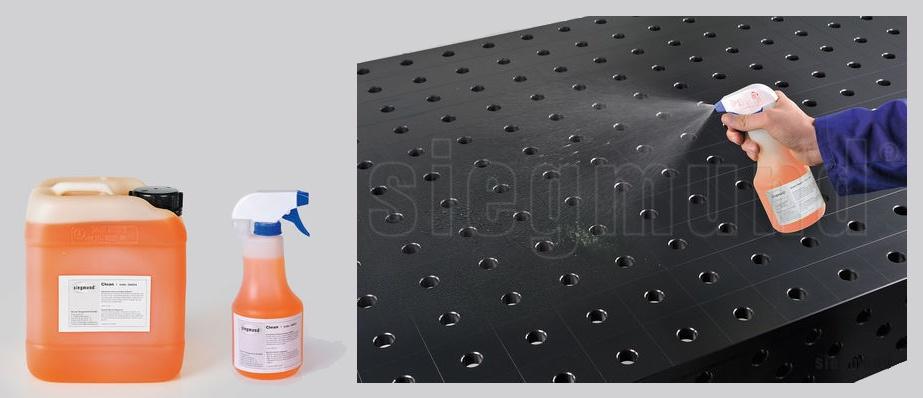 Foto de Líquidos limpiadores para mesas de soldadura