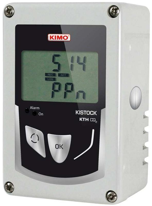 Foto de Registradores de temperatura, humedad y CO2