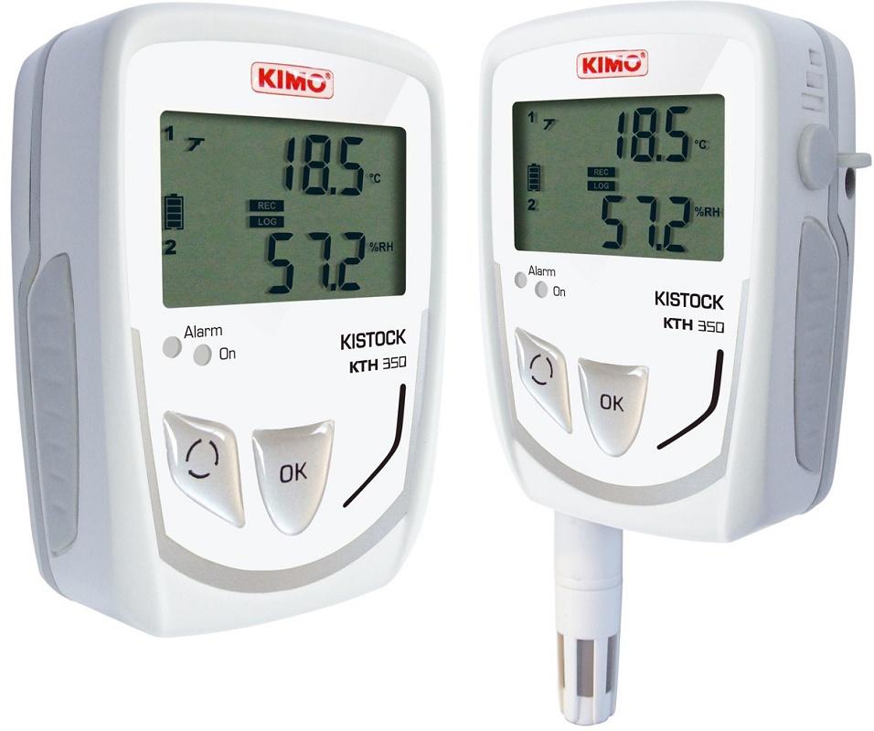 Foto de Registradores de temperatura, corriente y tensión
