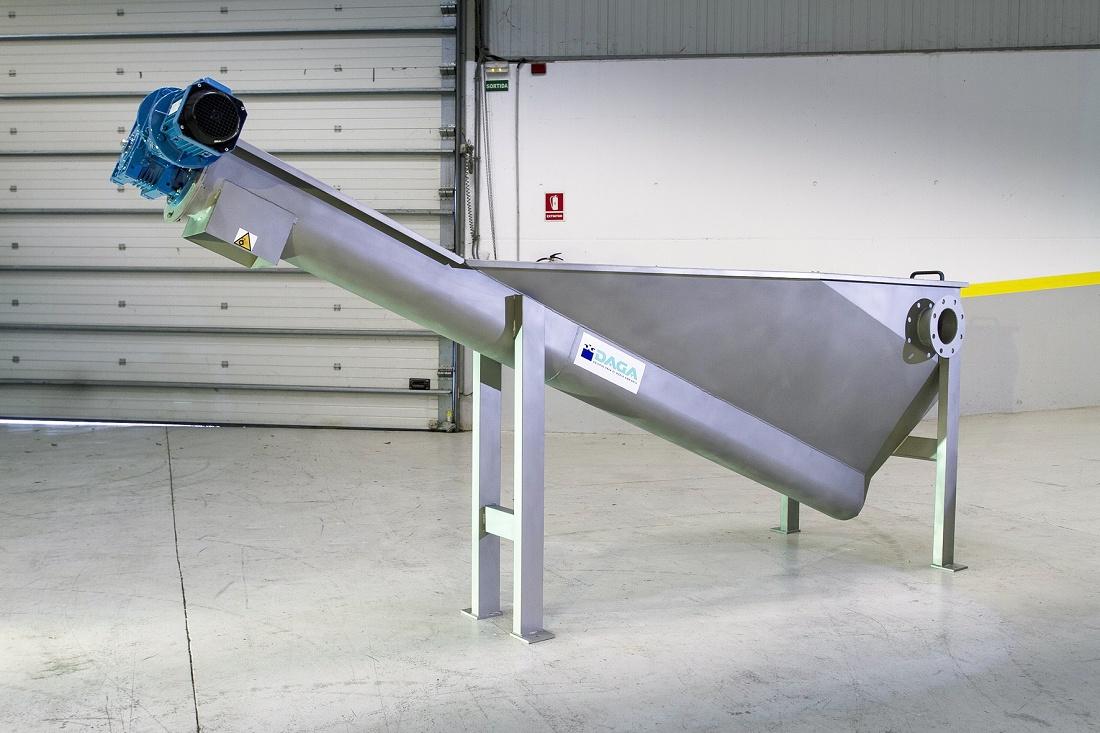 Foto de Extractor de arenas de tornillo sinfín