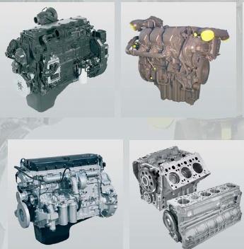 Foto de Motor industrial pesado