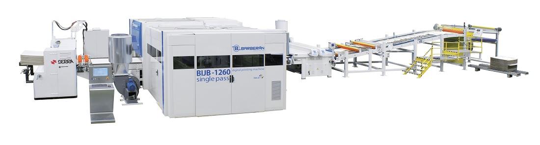 Foto de Sistema de impresión digital industrial