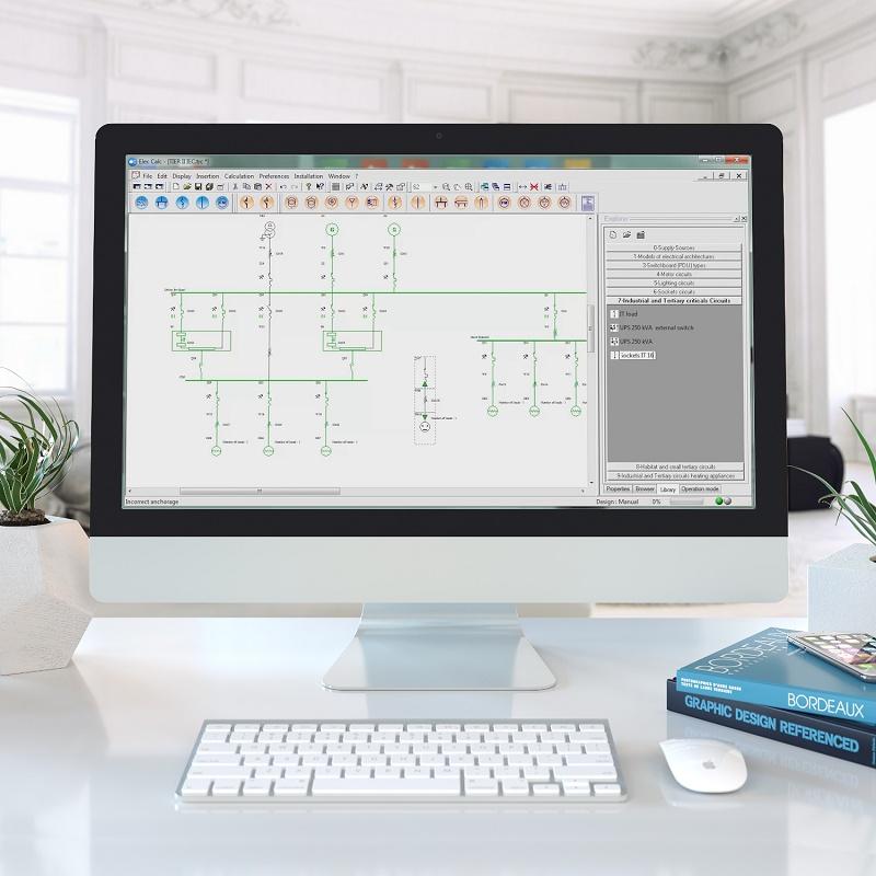 Foto de Software de cálculo eléctrico para instalaciones de baja tensión