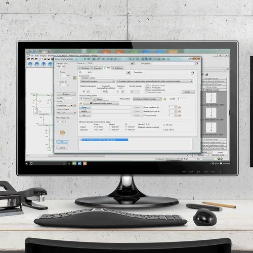 Foto de Software de cálculo eléctrico