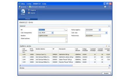 Foto de Software de gestión empresarial y control de trazabilidad