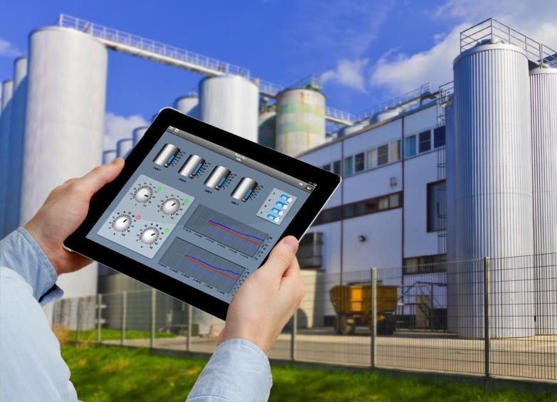 Foto de App para creación de HMI en un iPad