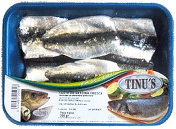 Foto de Filetes de sardina fresca