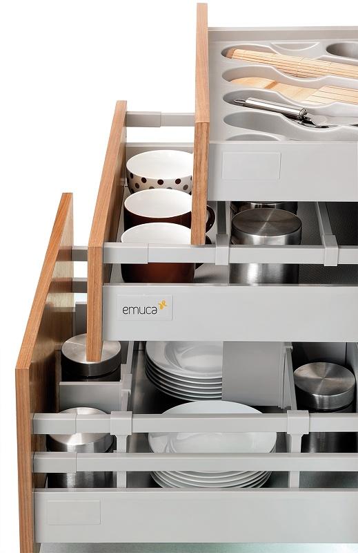 Cajones para cocina y ba o vantage q materiales para la for Cajoneras de cocina