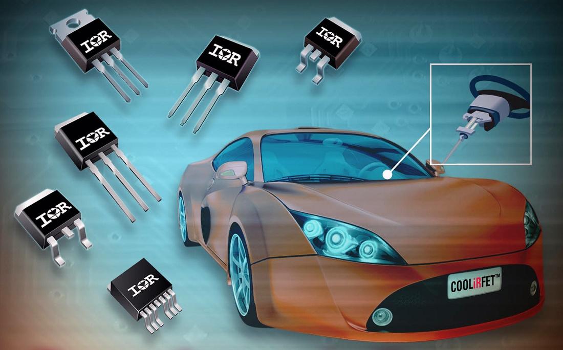 Foto de MOSFETs para automoción