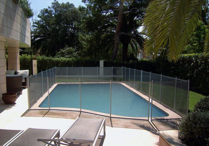 Foto de Vallas desmontables para piscinas