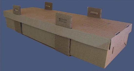 Foto de Arcas funerarias de cartón