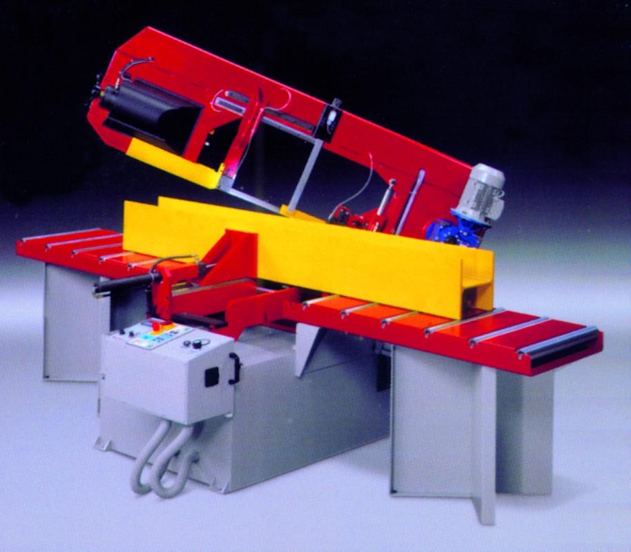 Foto de Sierras de cinta para perfiles de grandes dimensiones
