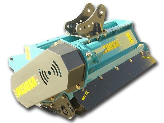 Foto de Trituradoras de brazo para miniexcavadoras