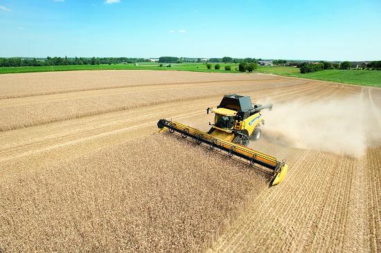 Foto de Cosechadoras de cereales