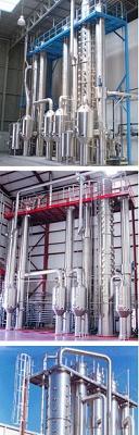 Foto de Evaporación, destilación y desulfitación