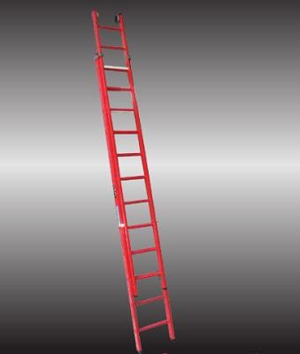 Foto de Escalera doble extensión manual