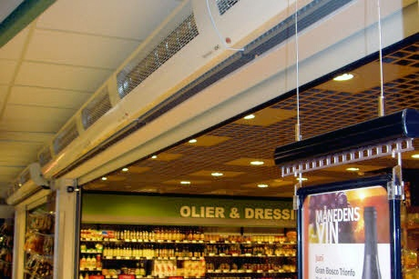 Foto de Cortinas de aire para cámaras frigoríficas