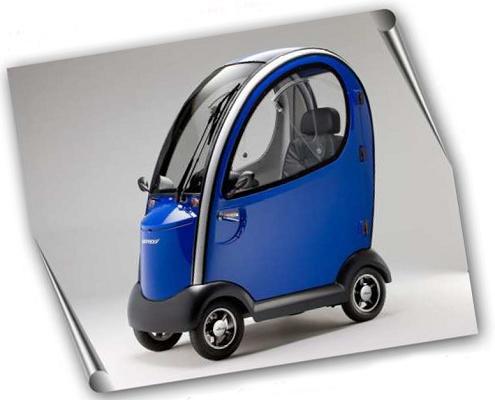 Foto de Scooters eléctricos cabinados