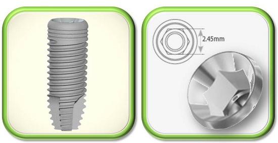 Foto de Implantes autorroscantes