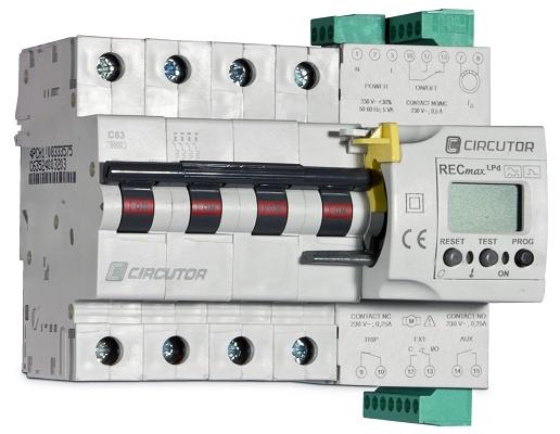 Foto de Interruptor magnetotérmico diferencial