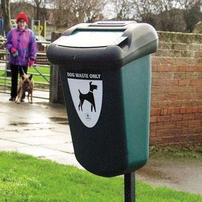 Foto de Papeleras para residuos caninos