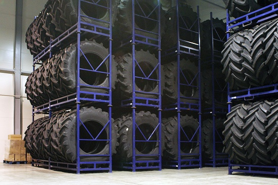 Foto de Almacenes inteligentes para neumáticos