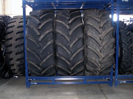 Foto de Estanterías móviles para neumáticos