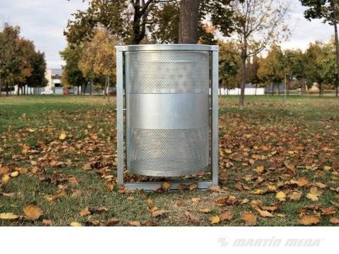 Foto de Papeleras metálicas antivandálicas