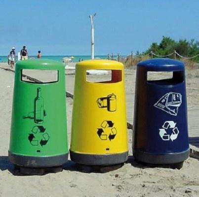 Foto de Papeleras para playas