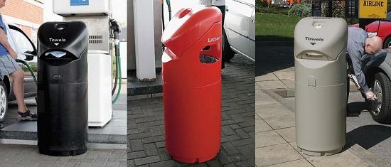 Foto de Papeleras 3 en 1 para gasolineras