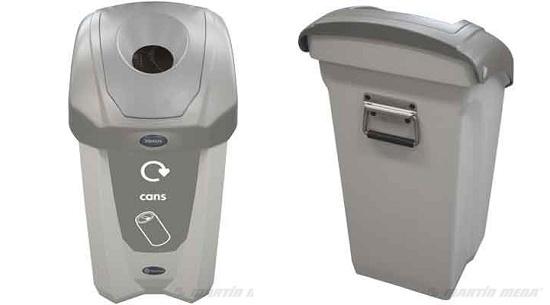 Foto de Contenedores de reciclaje de interior