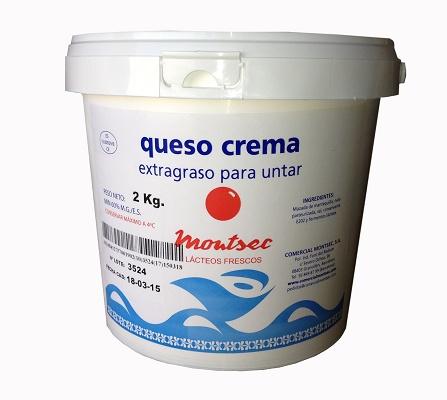 Foto de Queso crema extragraso ideal para untar