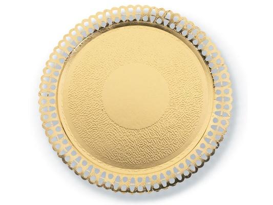 Foto de Platos de blonda oro
