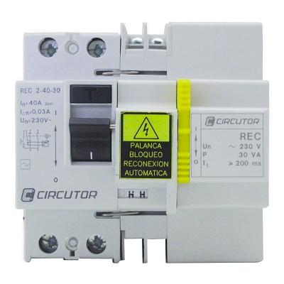 Foto de Diferencial con reconectador automático