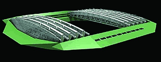 "Foto de ""Wimbledon tendrá un techo retráctil de PVC"""