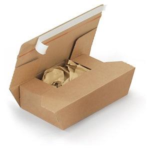 Foto de Caja con relleno de papel y cierre adhesivo